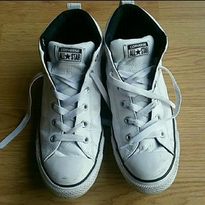 Mens!!! Leather Converse